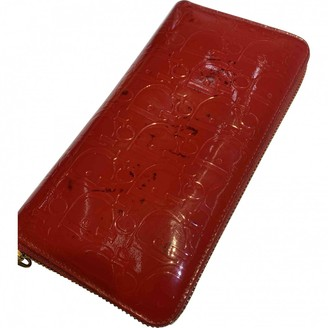 Christian Dior Red Patent leather Wallets