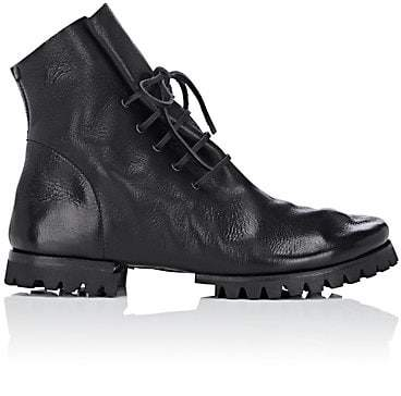 Marsèll Women's Leather Ankle Boots - Black