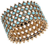 Lucky Brand Heritage Holiday Four-Row Turquoise Bracelet