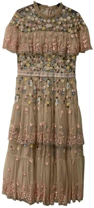 Needle & Thread Pink Lace Dress for Women