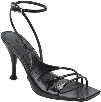 Sigerson Morrison Carissa Strappy Leather Ankle-Wrap Sandals
