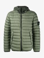 Stone Island Quilted Feather Down Jacket