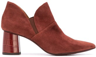 Chie Mihara Pointed Suede Boots