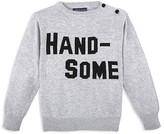 Andy & Evan Boys' Handsome Intarsia Sweater - Little Kid, Big Kid