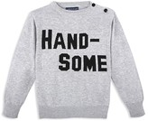 Andy & Evan Boys' Handsome Intarsia Sweater - Sizes 2-7