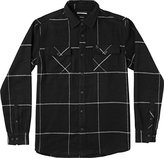 RVCA Men's Tall Order Long Sleeve Woven Shirt