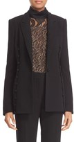 Prabal Gurung Women's Button Detail Crepe Jacket