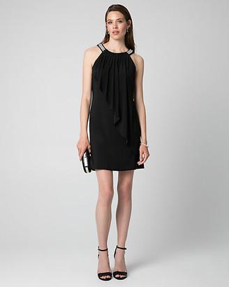 Le Château Knit Halter Cocktail Dress
