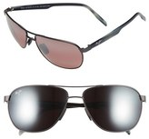 Maui Jim 'Castles - PolarizedPlus ® 2' 61mm Aviator Sunglasses