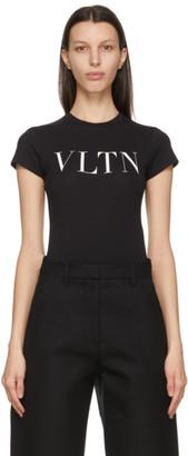 Valentino Black VLTN T-Shirt Bodysuit