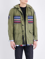 Hollywood Trading Company Cotton military jacket