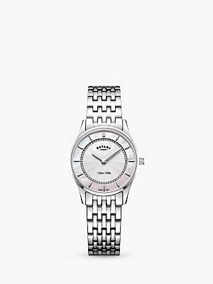 Rotary Women's Ultra Slim Bracelet Strap Watch