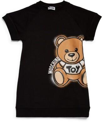Moschino Kids Teddy Bear T-Shirt Dress (4-14 Years)