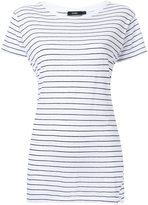 Bassike striped slim vintage neck T-shirt
