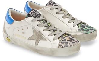 Golden Goose Super-Star Low Top Glitter Sneaker