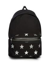 Saint Laurent Star-embellished Canvas Backpack
