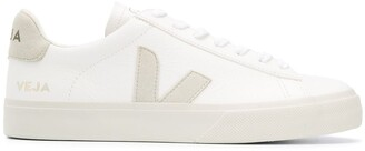 Veja Logo Patch Low Top Sneakers