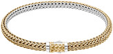 John Hardy Classic Chain Gold & Silver Extra-Small Reversible Bracelet