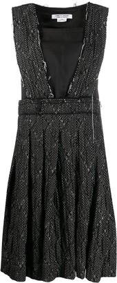 Comme des Garçons Comme des Garçons Pinafore Style Dress