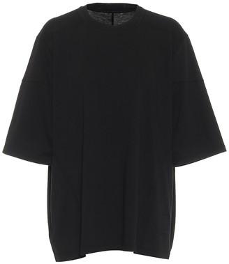 Rick Owens DRKSHDW cotton jersey top