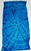 Tie Dye Co. TIE DYE BEACH TOWEL (Spider Royal)