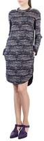 Akris Punto Women's Choker Neck Print Dress