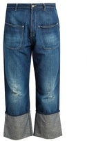 Loewe Fisherman distressed jeans