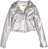 Miss Grant Faux Leather & Faux Shearling Jacket