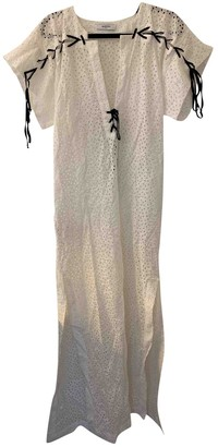 Marysia Swim White Cotton Dress for Women