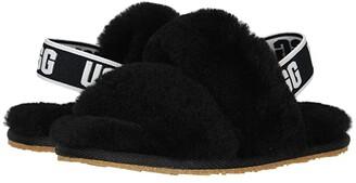 UGG Oh Yeah (Toddler/Little Kid) (Black) Girls Shoes