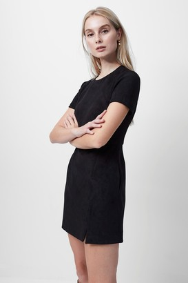 French Connenction Patty Drape Short Sleeve Dress