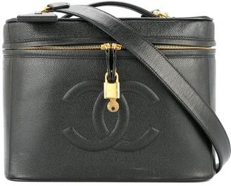Chanel Pre Owned 1994-1996 Cosmetic Vanity Handbag