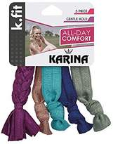 Karina K.Fit Braided Soft Hair Ties