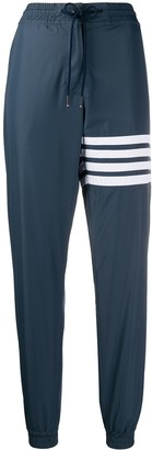 Thom Browne Track Pants With 4-Bar In Flyweight Tech
