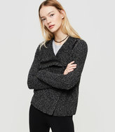 Lou & Grey Zip Moto Sweater Jacket