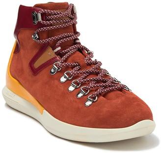 Bally Avyd High Top Chunky Sole Sneaker