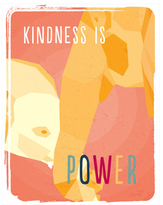 Kindness is Power Wall Art (Canvas)