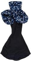 Oscar de la Renta Floral Evening Gown