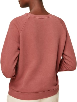 Whistles Et Voila Logo Sweatshirt - Pink