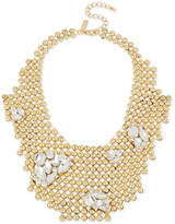INC International Concepts M. Haskell for Gold-Tone Rhinestone Cluster Bubble Bib Necklace, Only at Macy's