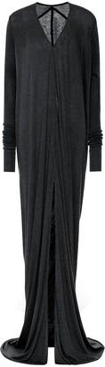 Rick Owens Lilies wool-blend maxi dress
