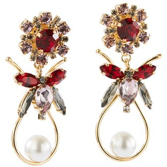 Erdem Bee Drop earrings