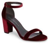 Stuart Weitzman Women's Nearlynude Ankle Strap Sandal