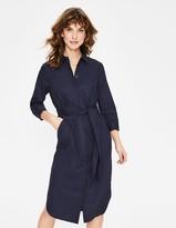 Freya Linen Shirt Dress