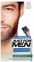 Just For Men Beard Gel Natural Dark Brown-Black