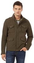 Red Herring Khaki Zip Through Jacket