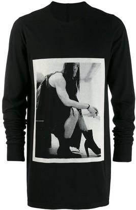 Rick Owens graphic print sweatshirt