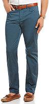 Perry Ellis Slim-Fit Sateen 5-Pocket Chino Pants