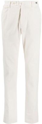 Tagliatore Corduroy Slim-Fit Trousers