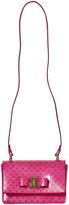 Salvatore Ferragamo Pink Owl Print Ginny Bag
